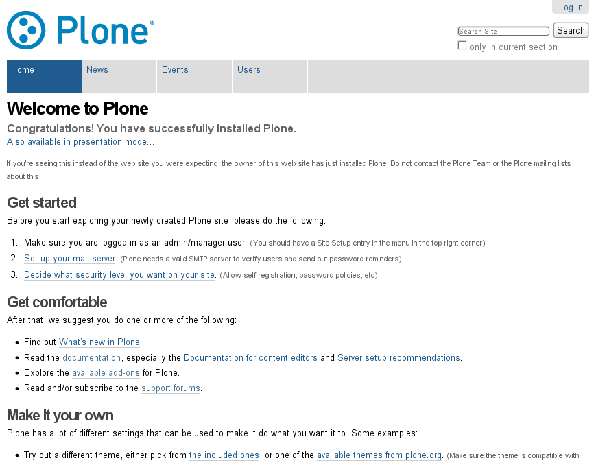 plone user accounts and roles plone documentation v3 3 rh docs plone org user guide documentation standards user guide documentation example